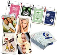 Подарочные игральные карты с фото